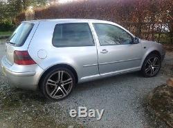 VW Golf Mk4 2003 1.9tdi 3 door silver 225/40/18 Wheels