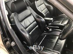 VW Golf Mk4 / Bora Full Black Leather Recaro Seats Door Panels Breaking GTI TDI