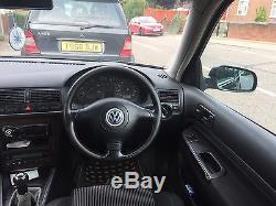 VW Golf Mk4 GT TDI 150 Black Slightly Modified