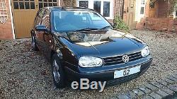 VW Golf Mk4 black 1.9 TDI