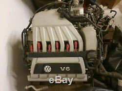 VW Golf R32 Engine BUB 64k Miles Gti VR6 3.2 mk4 mk5 Audi TT mk2 mk1 mk3 GTI tdi