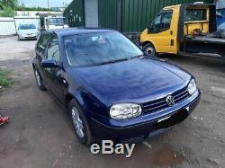 VW Golf mk4 1.9tdi 2 owner car, low mileage, full mot, cheap tax and insurance