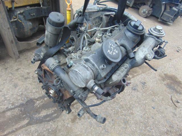 Vw Golf Mk4 Bora A3 98-04 1.9tdi Diesel Aef Engine 90k Inc 60 Day Warranty