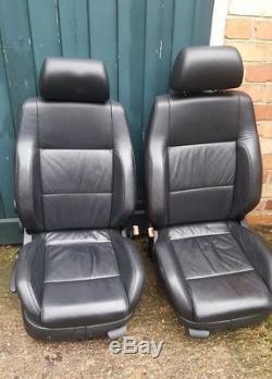 VW Golf mk4 leather heated interior seats and door panels x4 gti bora 5dr tdi