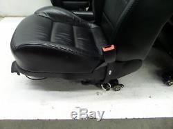 VW Jetta TDI Sedan Heated Leather Seats Black MK4 00-05 OEM Golf 4 DR