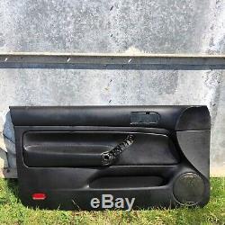 VW MK4 Golf 3 Door Black Leather RECARO Interior TDi V5 1.8T GTi V6 4 Motion