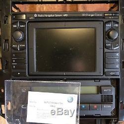 Vw Mk4 Golf / Bora Mfd Sat Nav Radio Navigation System Headunit R32