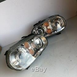 VW MK4 Golf R32 Gen 2 Xenon Headlights (PAIR) V6 TDi V5