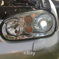 VW MK4 Golf R32 Xenon Headlights & Ballasts (Pair) GTi V6 TDi