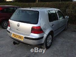 VW Mk4 golf 1.9 tdi silver