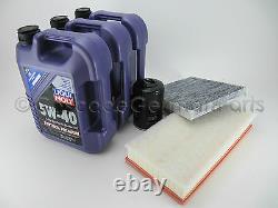 VW OEM TDI 40k Oil Change Kit & Filter Pack Mk4 Golf Jetta 15L 505.00 ALH