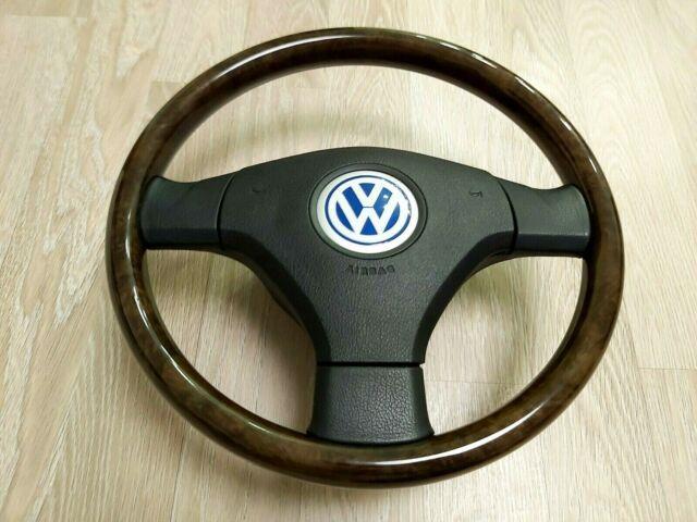 Vw Passat B5 B5.5 W8 Wood Wooden Steering Wheel 1j0419091br Golf Mk4 Jetta Gli