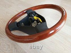 VW Passat B5 B5.5 W8 Wood Wooden Steering wheel 3B7419091H Golf MK4 Jetta GLI