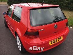 VW Volkswagen Golf GTI TDI 25th Anniversary mk4 Red