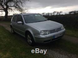 VW Volkswagen Golf MK4 1.9 GT TDI 130 SPARE or REPAIR