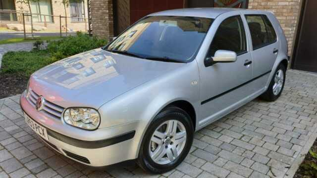 Vw Golf Mk4 1.9 Tdi 100bhp 2003 Low Mileage 30k One Owner From New