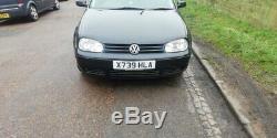 VW golf mk4 1.9 tdi low mileage long mot