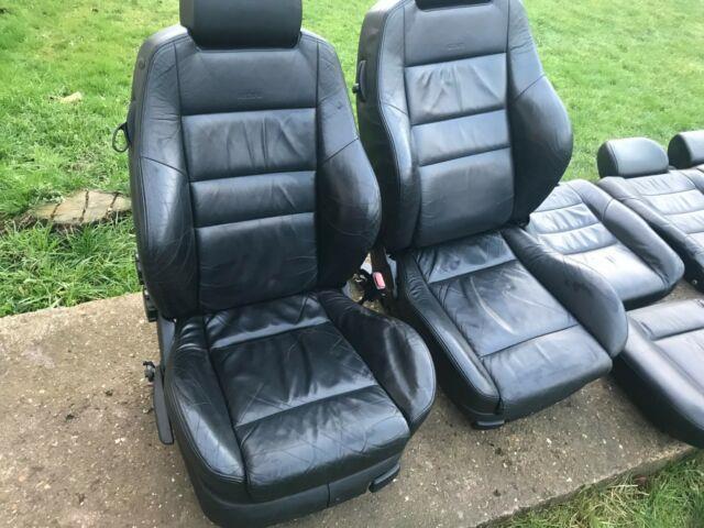 Volkswagen Golf Mk4 3 Door Recaro Black Leather Seats Vw Gti Gt Tdi