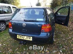 Volkswagen Golf MK4 TDi. Only 17000 genuine miles