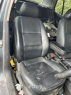 Volkswagen Golf Mk4 Black Leather Seats Interior 5dr Door Cards Tdi Gti Bora V5