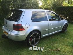 Volkswagen Golf Mk 4 GT TDI fully loaded remapped lowered 3 door Audi wheels