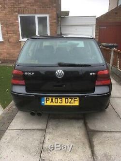 Volkswagen Golf mk4 GT TDI 150 2003 needs engine work