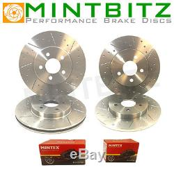 Volkswagen Golf mk4 GT TDi 130 Front Rear Dimpled And Grooved Brake Discs & Pads