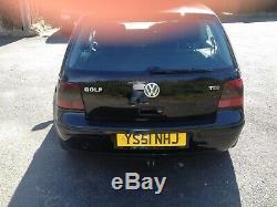 Volkswagen Golf mk4 tdi low mileage fsh