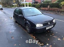 Volkswagen VW GOLF MK4 130 GT TDI BLACK Leather heated seats climate control