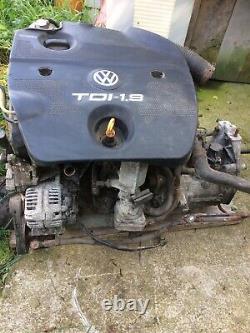 Volkswagon Golf Mk4 Tdi 1.9 Diesel Engine And Gear Box Full Engine