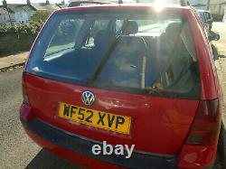Vw Diesel Golf Estate S Tdi 2002 Mk4 Spares Or Repair Mot Till January 2021