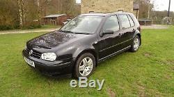 Vw Golf 1.9 TDI PD 100bhp Mk4 2003 Hatchback Alloys Black