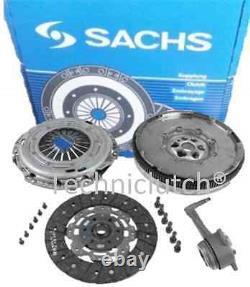 Vw Golf 1.9 Tdi 1.9tdi Arl 110kw Sachs Dual Mass Flywheel And Sachs Clutch, Csc