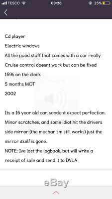 Vw Golf 1.9 Tdi Mk4 economical Small Car 5 Doors