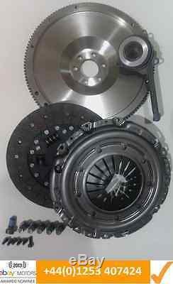 Vw Golf 1.9tdi 1.9 Tdi 130 Asz Flywheel, Clutch Kit, Csc & All Bolts