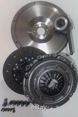 Vw Golf 1.9tdi 1.9 Tdi 4motion Arl 150 Flywheel, Clutch Kit, Csc & All Bolts