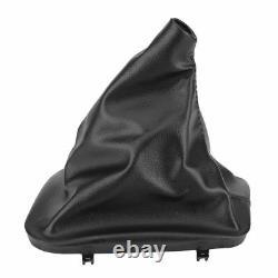 Vw Golf 4 Mk4 1998 2006 Gt Gti Tdi Black Ecoleather Gear Stick Knob Cover Gaiter