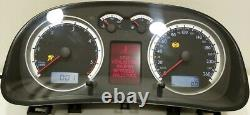 Vw Golf Bora Instrument Cluster Speedo Tacho Sport Edition Mfa Fis 1j5920846c