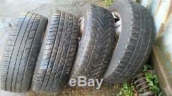 Vw Golf Gt Tdi Mk 4 2001 15 Inch 5 Stud Alloy Wheels Set X4