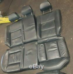 Vw Golf Interior Black Leather Seats Set Of 1.9 Gt Tdi Mk 4 2003