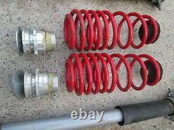 Vw Golf Mk4 1.9 Gt Tdi Front Rear Coilovers Suspension Lowered Springs
