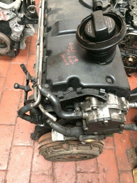 Vw Golf Mk4 1.9 Tdi Complete Arl Engine With Flywheel. (3)