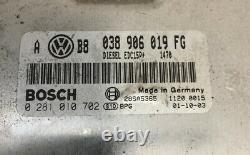 Vw Golf Mk4 1.9 Tdi Pd130 97-03 Ecu Kit 06a906019fg 1c0959799b