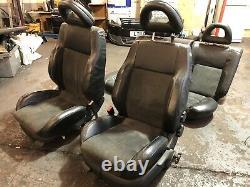 Vw Golf Mk4 Bora Sport Half Leather Alcantara Interior Seats With Doorcards Tdi
