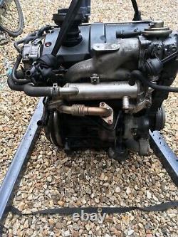 Vw Golf Mk4 GT TDI PD150 ARL Engine Complete With Turbo /Seat Leon Mk1 / Audi