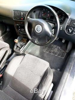 Vw Golf Mk4 Gt Tdi Pd150 Car. Hatch. 155k. Alloy Wheels. Silver. Diesel. 2003. Nr