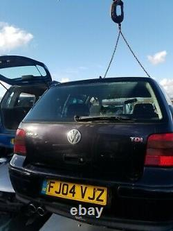 Vw Golf Mk4 Gt Tdi Rear Tailgate Breaking Complete Car Parts Available