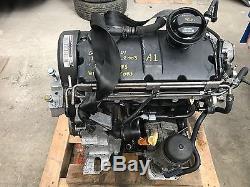 Vw Golf Mk4 Gttdi 1.9 Tdi Arl Engine With Injectors, 84k Miles 2003, Leon, Bora