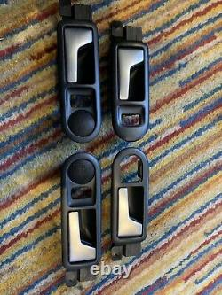 Vw Golf Mk4 R32 Brushed Aluminium Door Release Handles 25th Anniversary Bora Tdi
