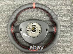 Vw Golf Mk4 R32 Gti Gtd Tdi Sportline Custom Made Flat Bottom Steering Wheel